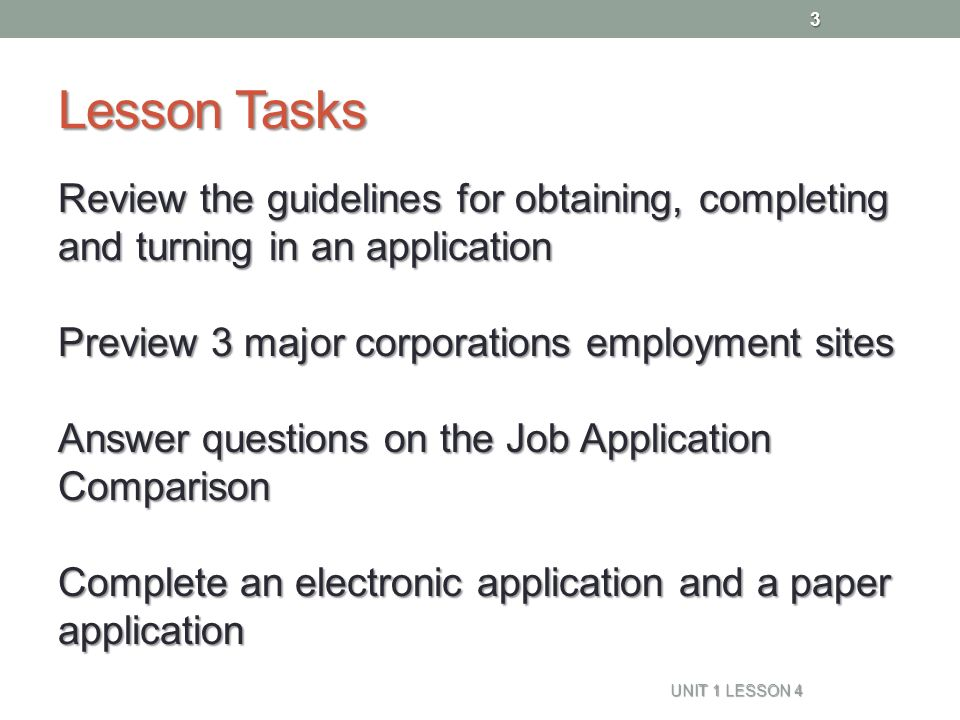 how to complete job application questions