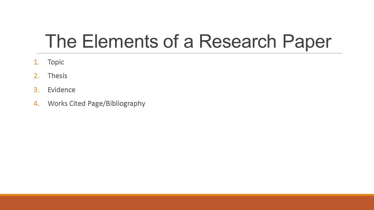 elements of a research essay The research problem should be written prior to the outset of the study in order to focus the research efforts on a specific objective and provide a strong basis for interpreting the results.