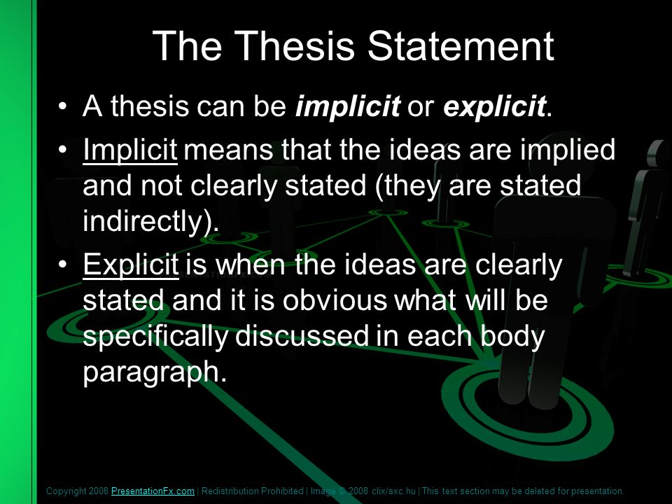thesis statement of mass media