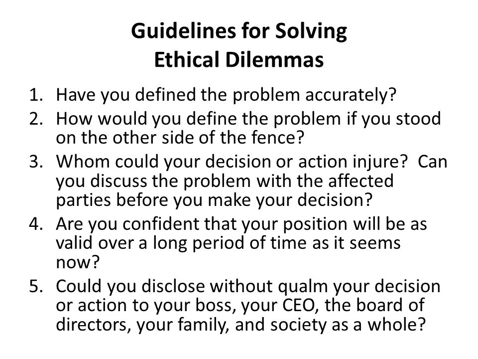 "an analysis of the ethical dilemmas in business Analysis of ethical dilemma from current events karen perion grand canyon university analysis of ethical dilemma from current events ""a dilemma is a."