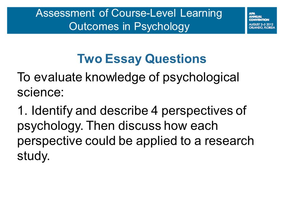 assessment of learning 2 essay What is the difference between formative and summative assessment formative assessment the goal of formative assessment is to monitor student learning to provide ongoing feedback that can be used by instructors to improve their teaching and by students to improve their learning.