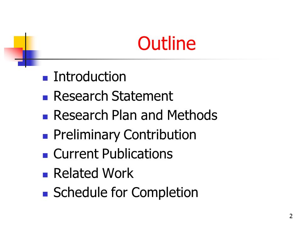 Research Proposal Format In Computer Science How To Write Computer Science Research Proposal A Free Applied