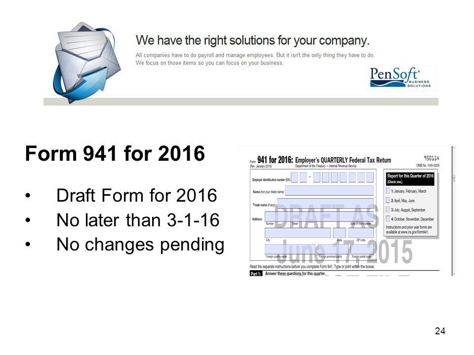 2016 Form 941 Barearsbackyard