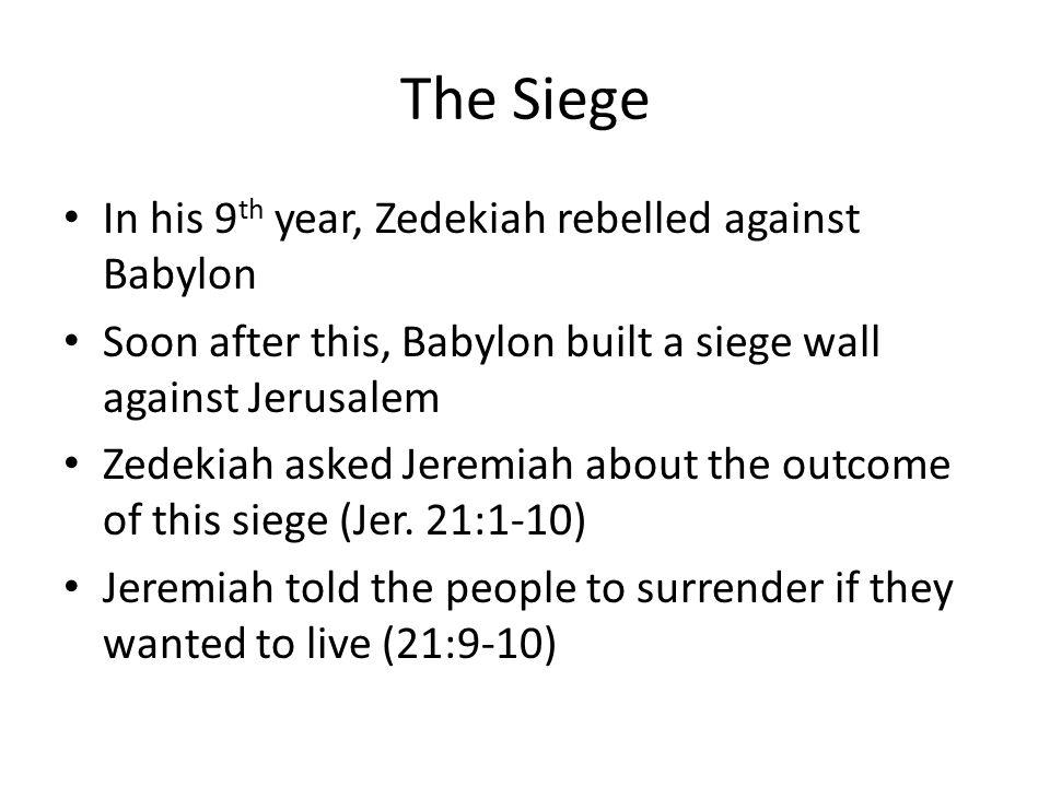 siege year 1