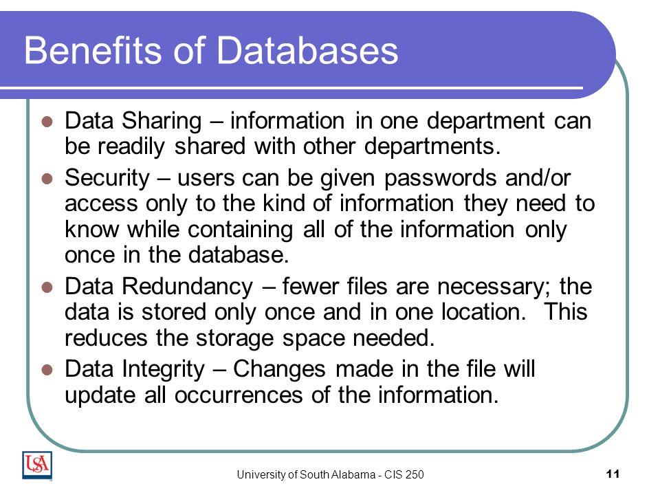 Image result for database benefits