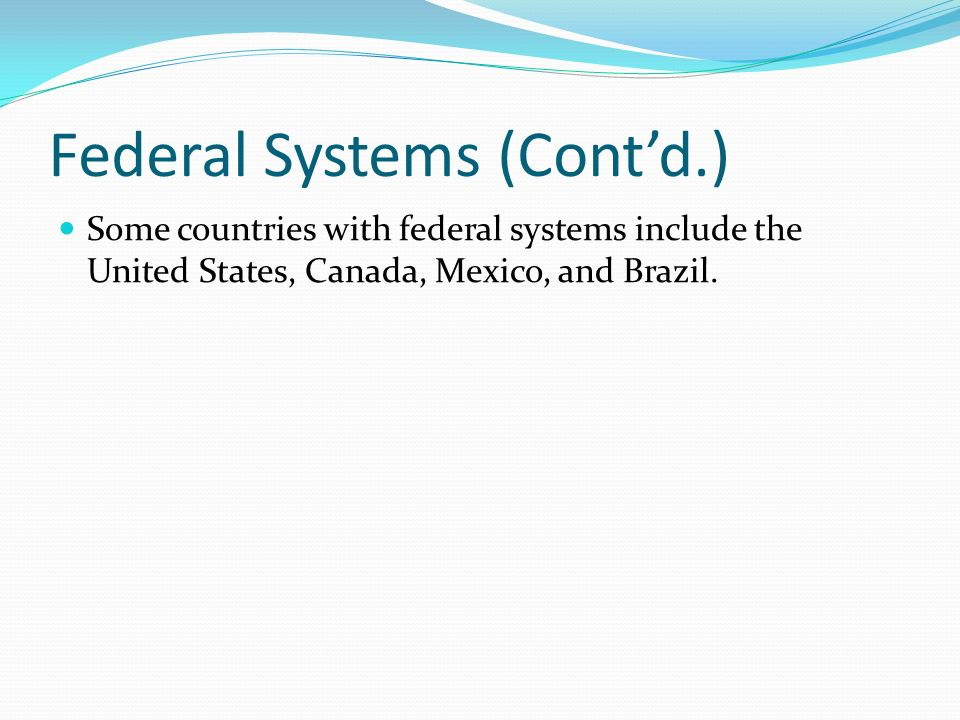 What would be a great country to compare and contrast the United States government to?