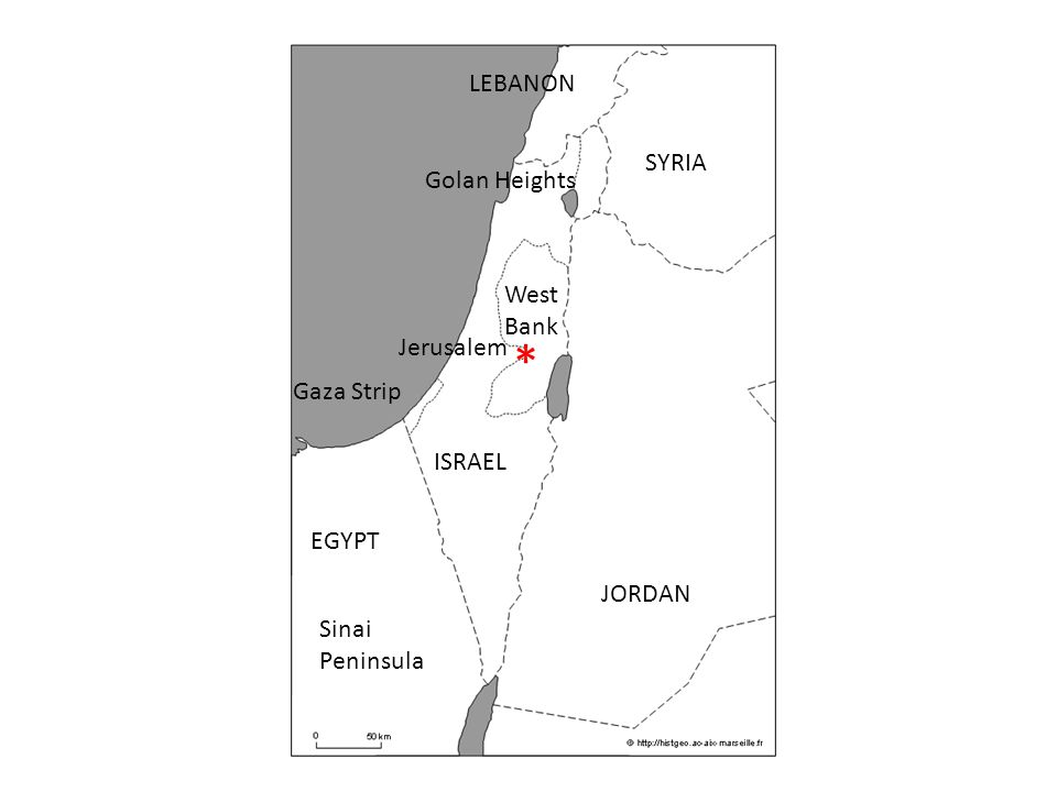 History Of The IsraeliPalestinian Conflict ISRAEL EGYPT JORDAN - Map of egypt jordan and syria