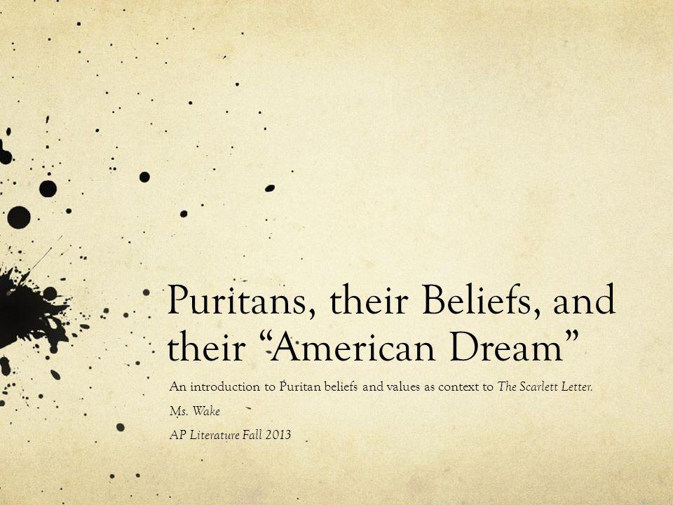 I really need puritan essay help!?
