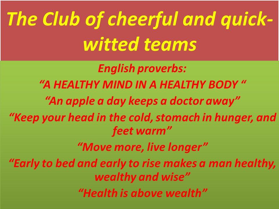 essay keep our body healthy