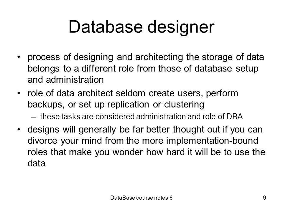 9 database designer - What Is Database Designer