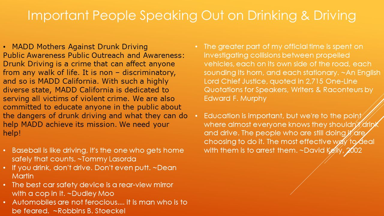 drunk driving as a social issue essay Drunk driving is a very serious problem in our society today  most of the drunk drivers v ictims are the drivers themselves  essays related to drunk driving.