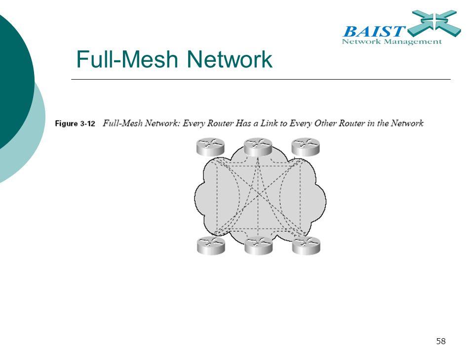 58 Full-Mesh Network