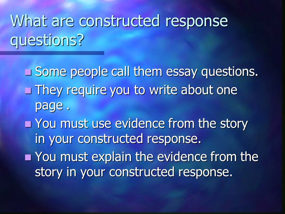People to call to write essays