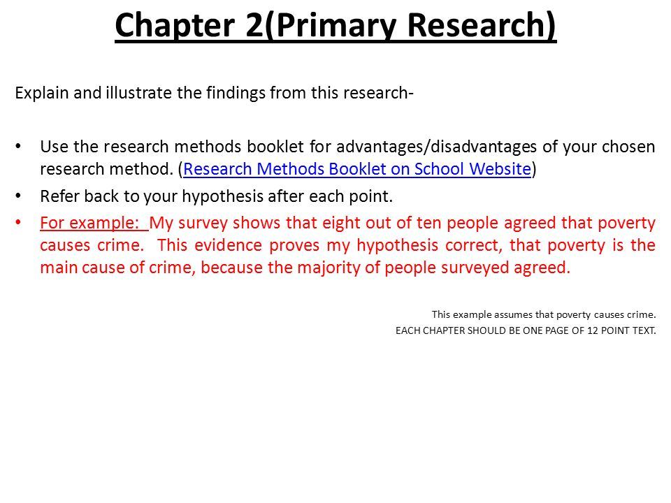 advantages of primary research methods Review of research options basic premise: academic investigations should be approached in a systematic way before deciding on your research options, you need to work out a profile of the study to see what types of research approach or methods will be most appropriate.