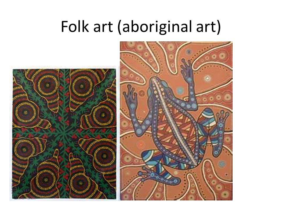 Folk art (aboriginal art)