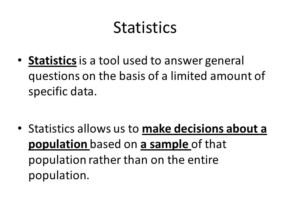 be statistics question answer
