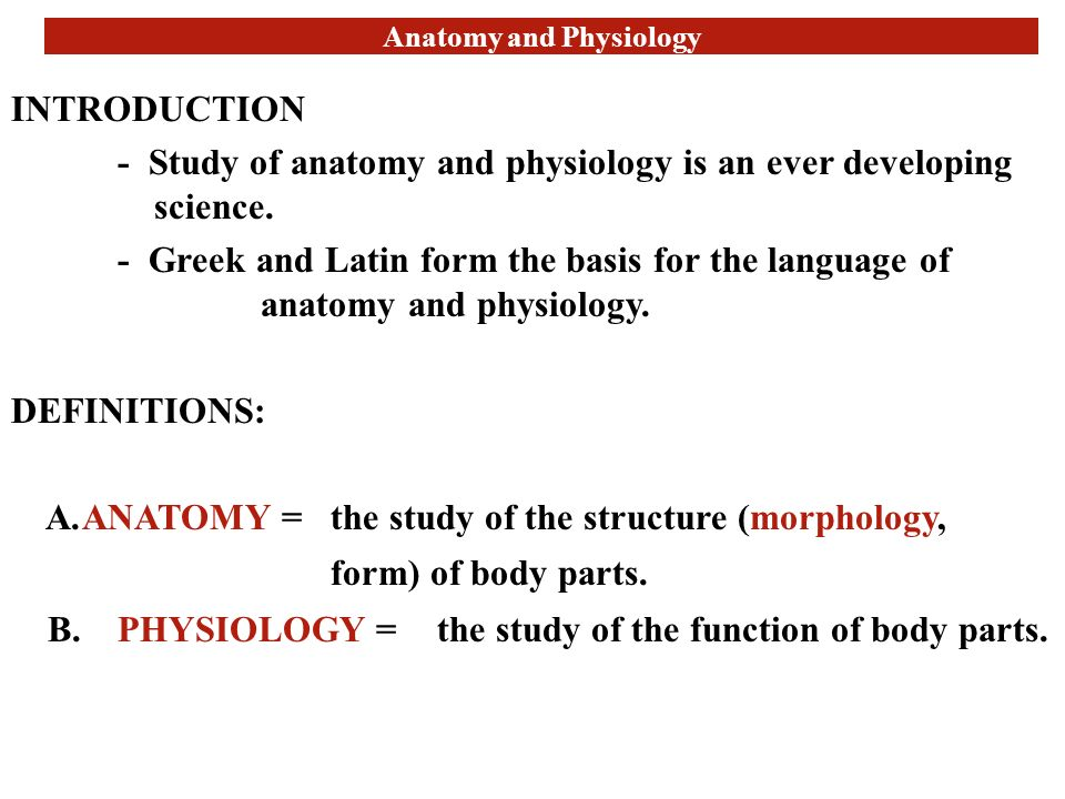 human anatomy and physiology an introduction Human anatomy and physiology ii is an online science class at ed2gocom, that you can take at your own pace.