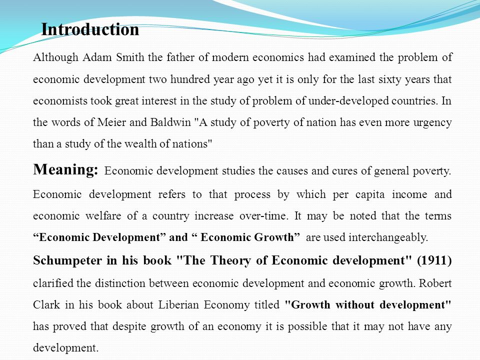 an analysis of adam smiths theory of economic growth Classical economics or reoriented economics away from an analysis of the ruler's distribution since adam smith: ideology and economic theory.