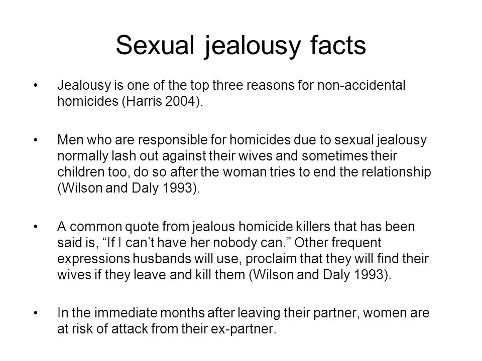 essay discuss one or more biological explanations of aggression  sexual jealousy facts jealousy is one of the top three reasons for non accidental homicides