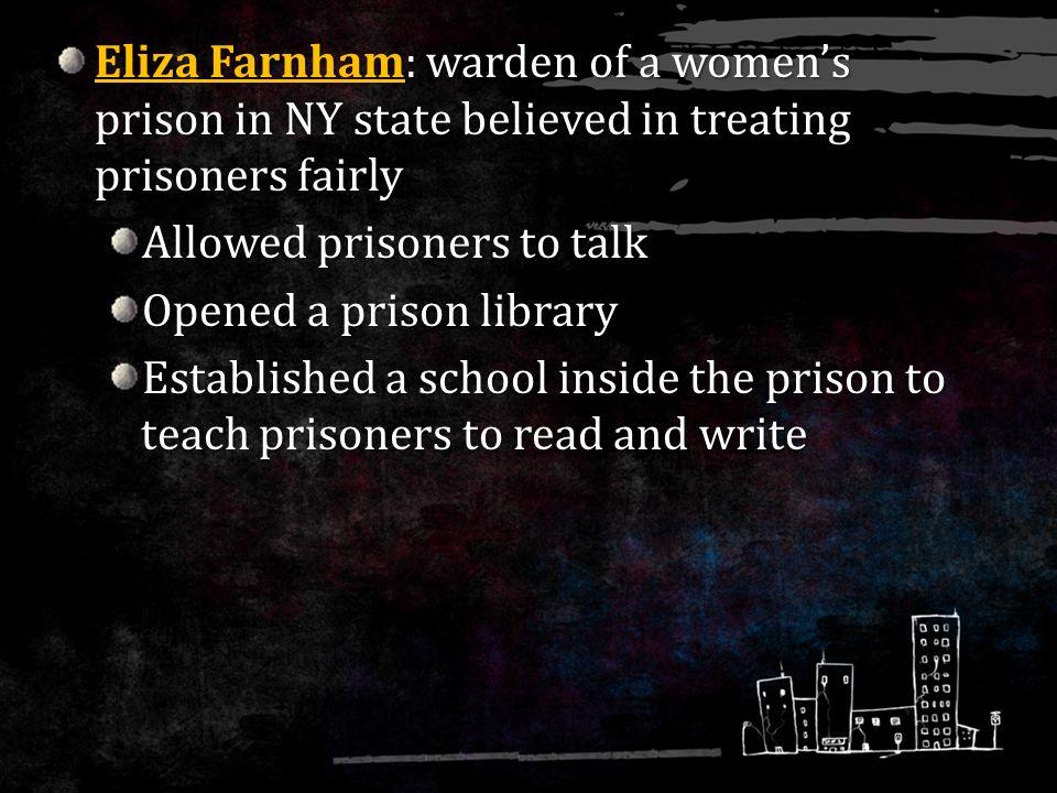 prisoners treated fairly