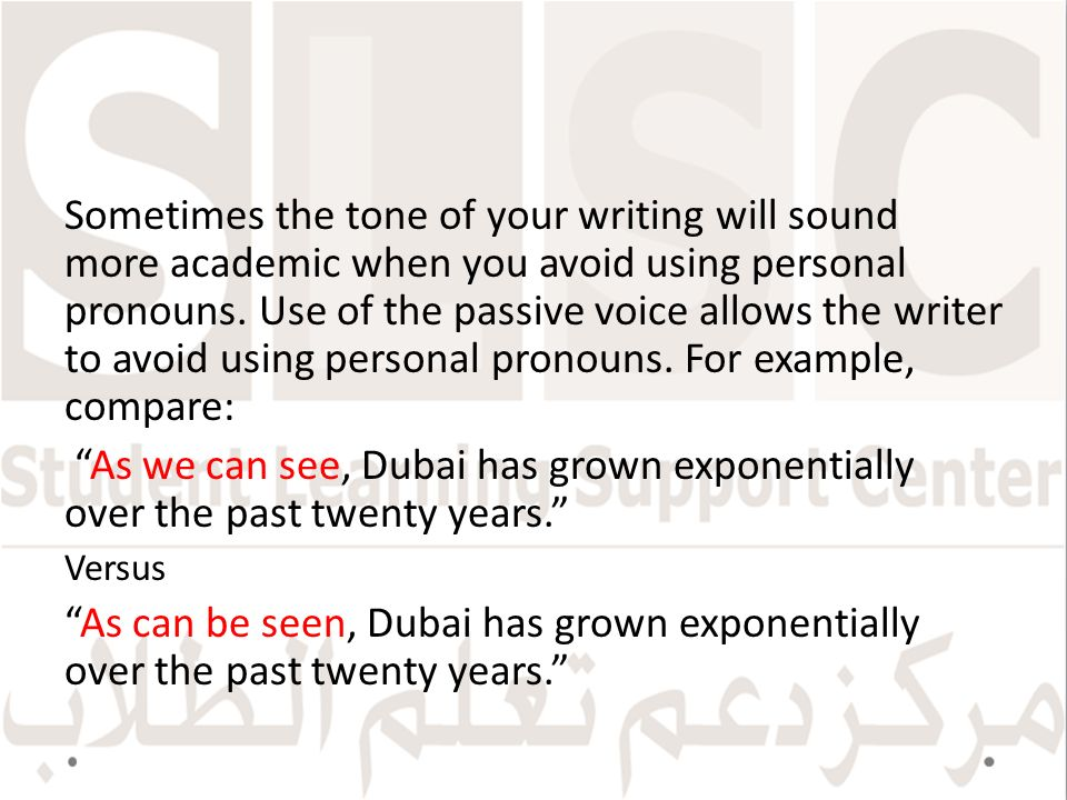 As a writer, should I avoid passive sentences?