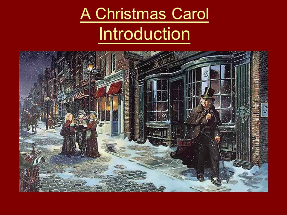 A Christmas Carol Wealth and Poverty. Help, please!?
