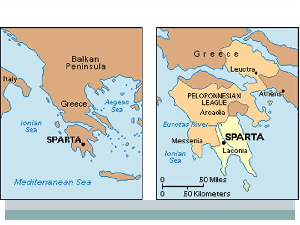 Athens Sparta Location The Two Citystates Were About Miles - Where is athens located