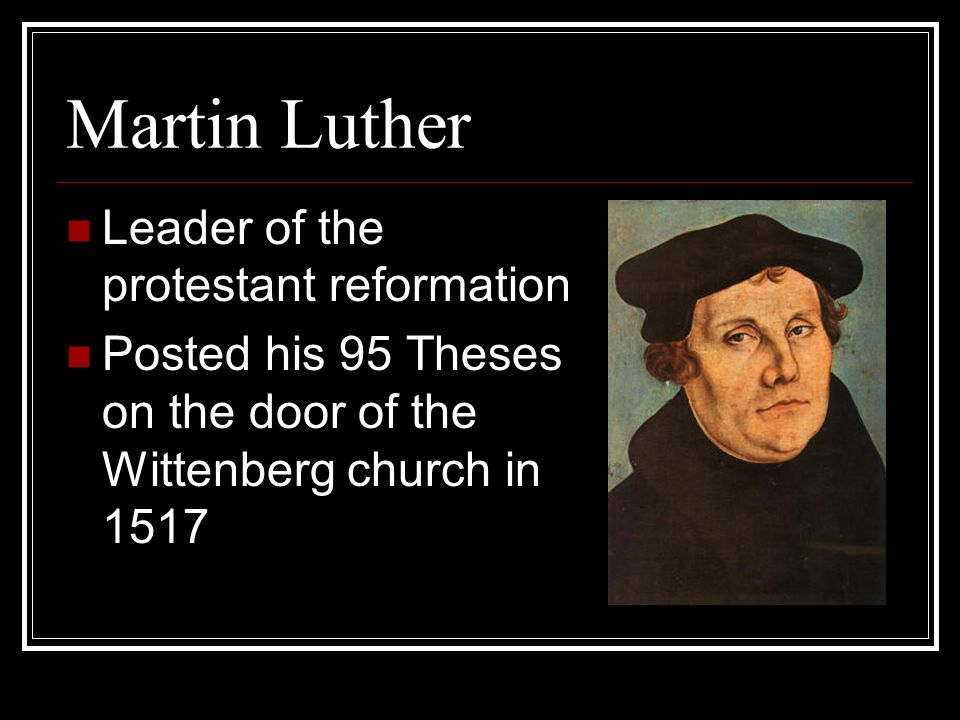 a research of the protestant reformation Protestant churches  this paper will look at the history of the protestant reformation or research paper click the button above to view the complete.