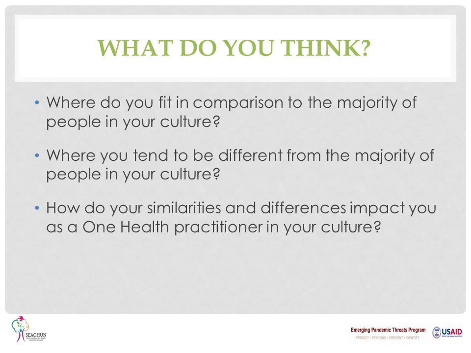 How does health differ between cultures?