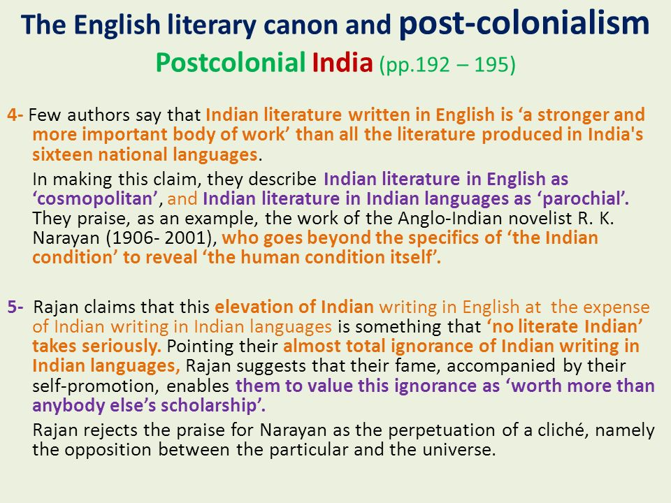 postcolonial novel essay The post-colonial novel raises interesting questions concerning both the legacy of imperialism and the status of representation in relation to it in this essay i wish to focus upon first person narration as a significant.