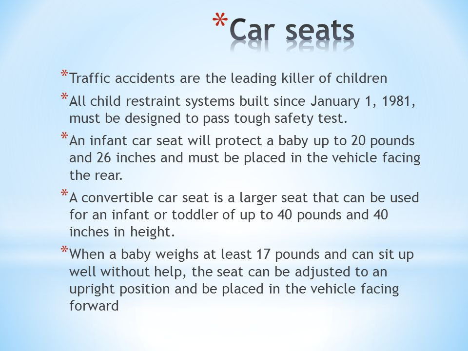 Driver Responsibility. * The New Jersey seat belt law requires all ...