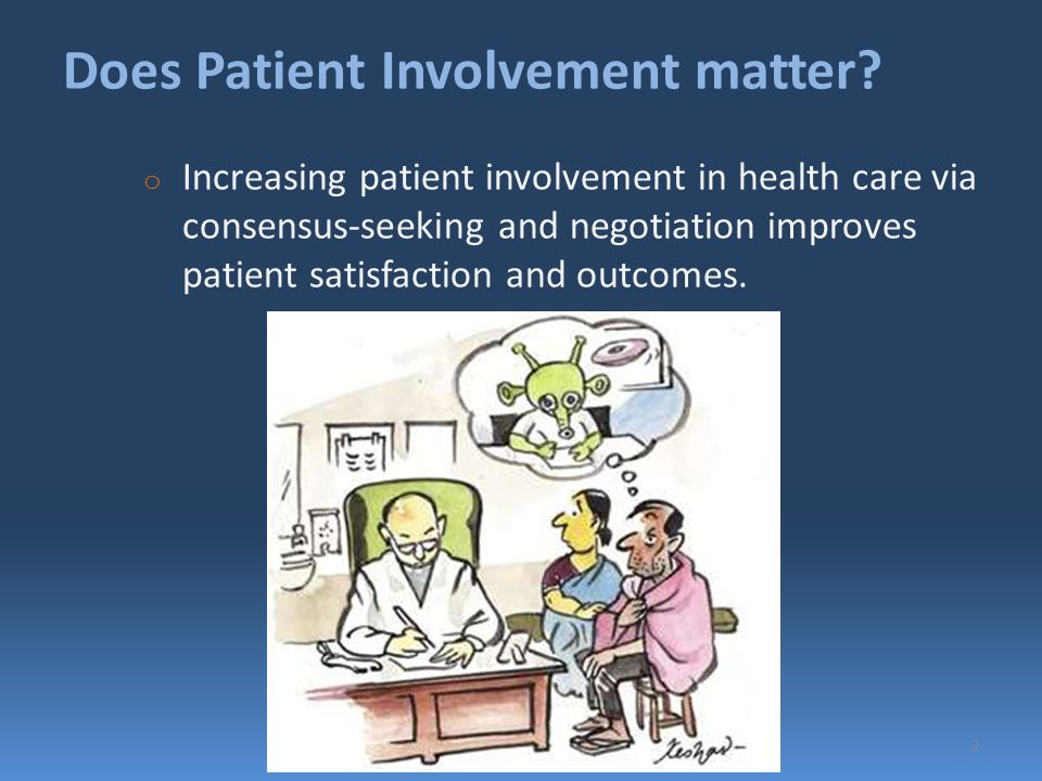 patient involvement in decision making