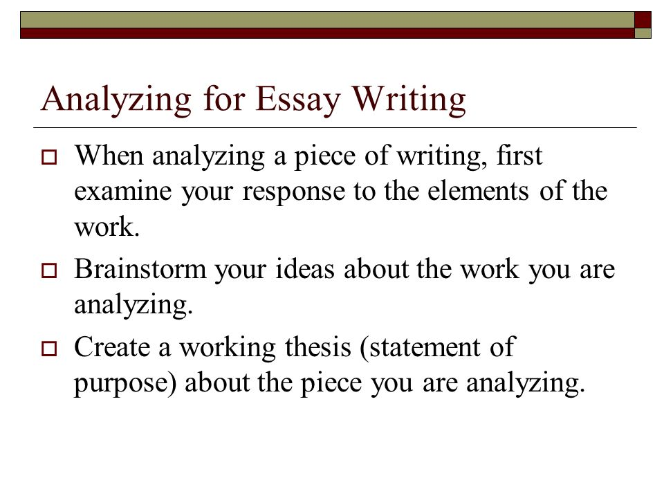an analysis of a creative essay in skiing Essay writing guide learn the art of brilliant essay writing with help from our teachers learn more as and a level as and a level resources with teacher and.