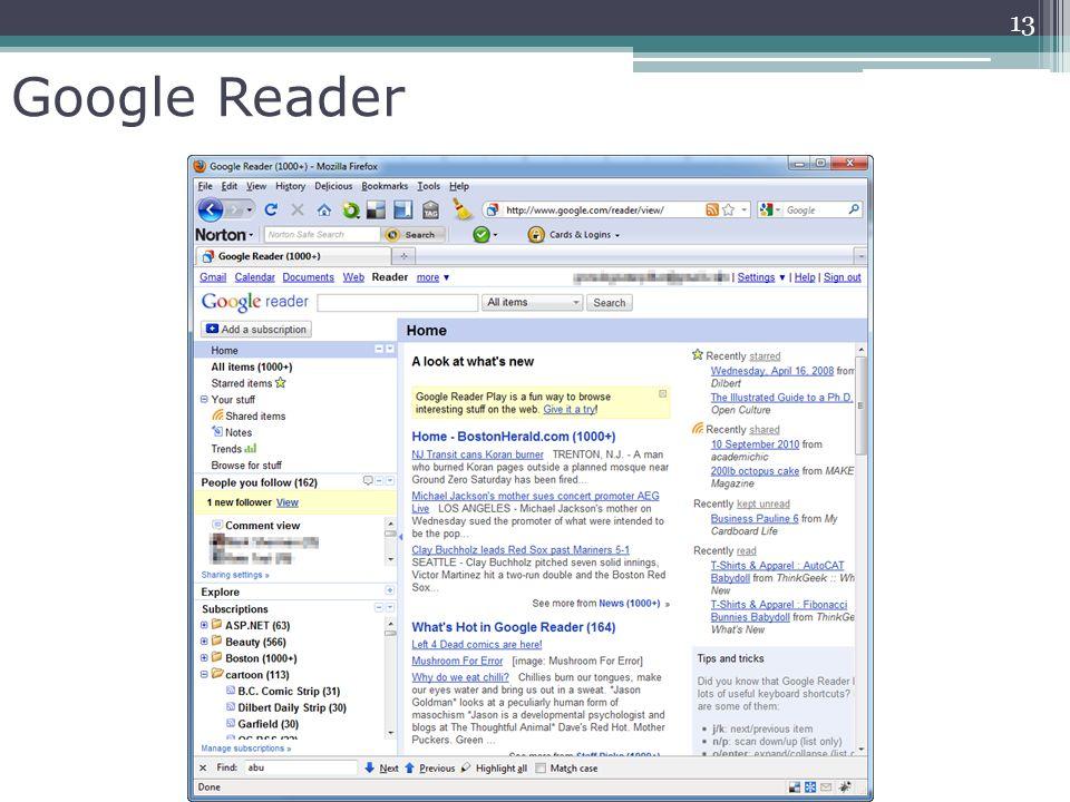 Google Reader 13