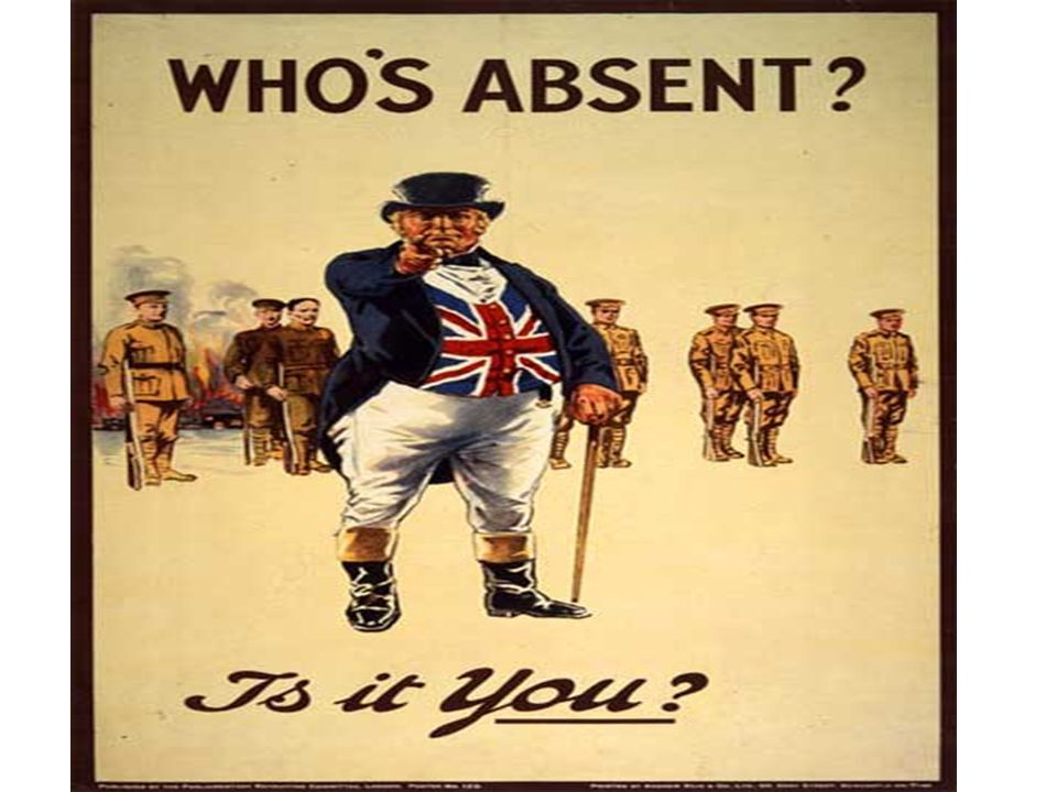 World War One Propaganda Posters. - ppt download
