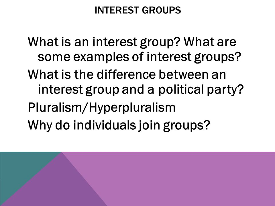 examples of hyperpluralism What are the best examples of pluralism what is pluralism what is political pluralism what is parliament plurality will america self-destruct because of pluralism.