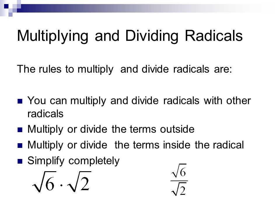 Multiplication Radicals Worksheet multiplying and dividing – Multiplication and Division of Radicals Worksheets