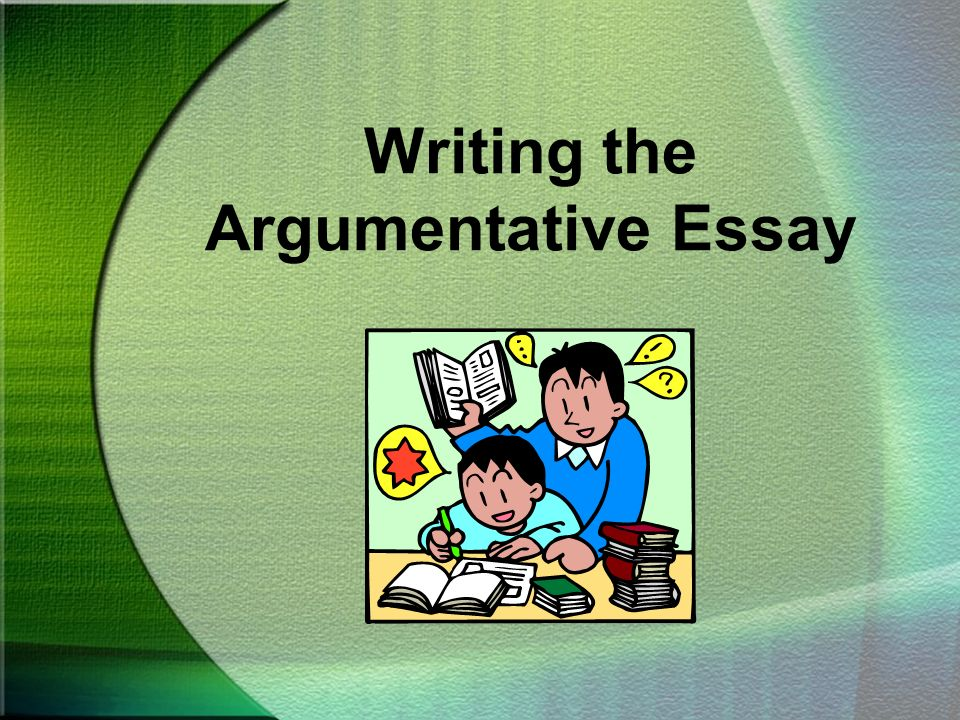 Topics To Argue About In An Essay