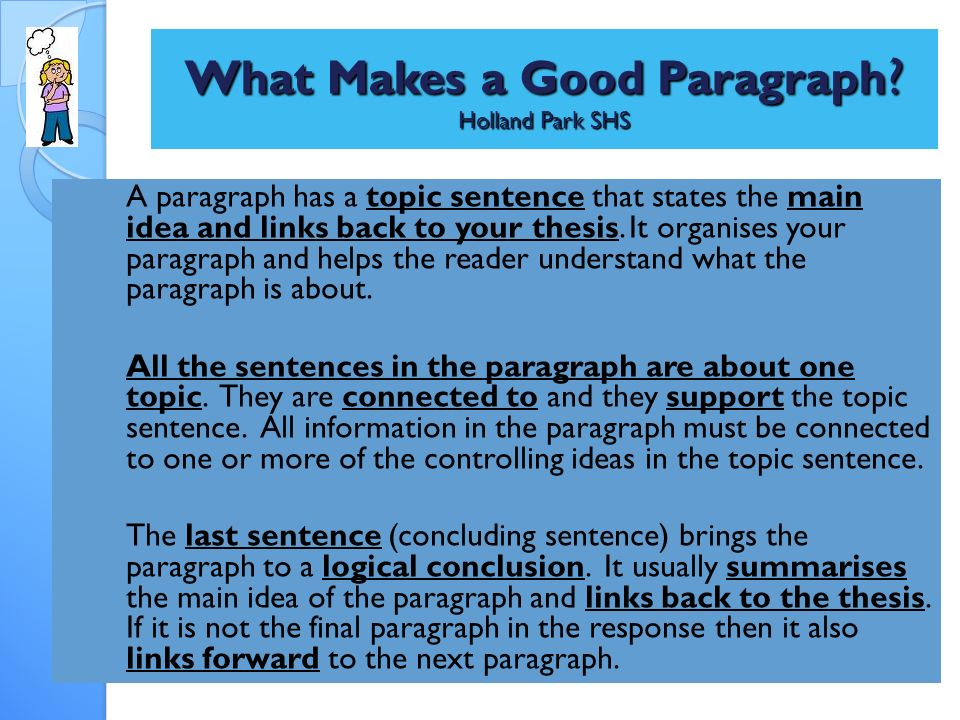 writing good thesis sentence A thesis statement is usually a sentence that states why do i need to write a thesis statement for a good outline is an important element in writing a good.