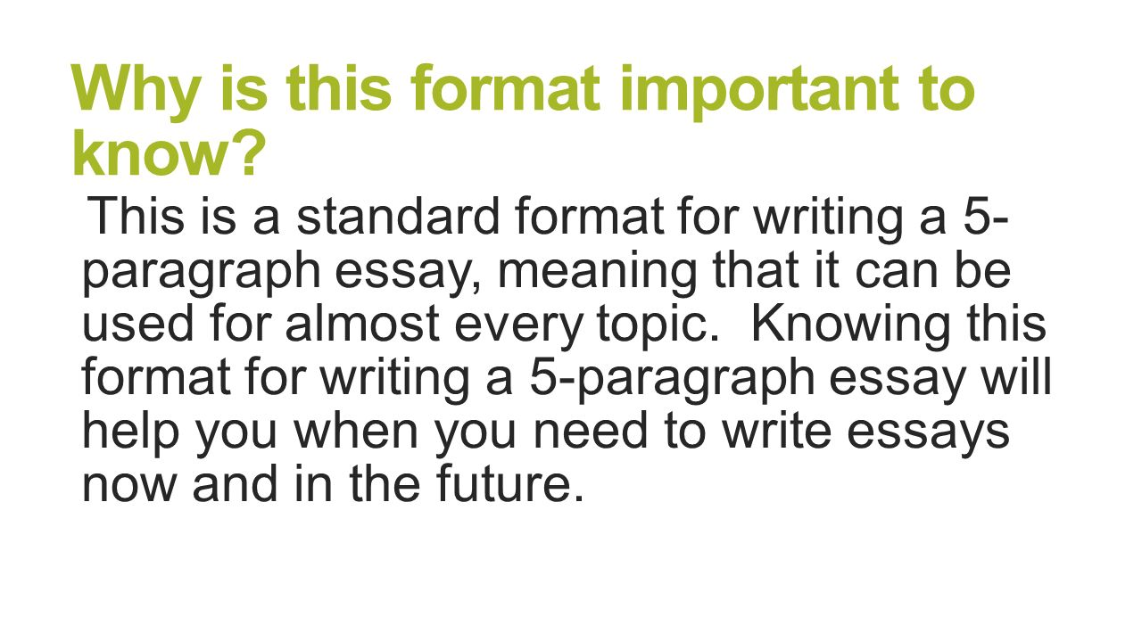 5 paragraph essay layout paragraph essay structure brought to you by powerpointpros com why is this