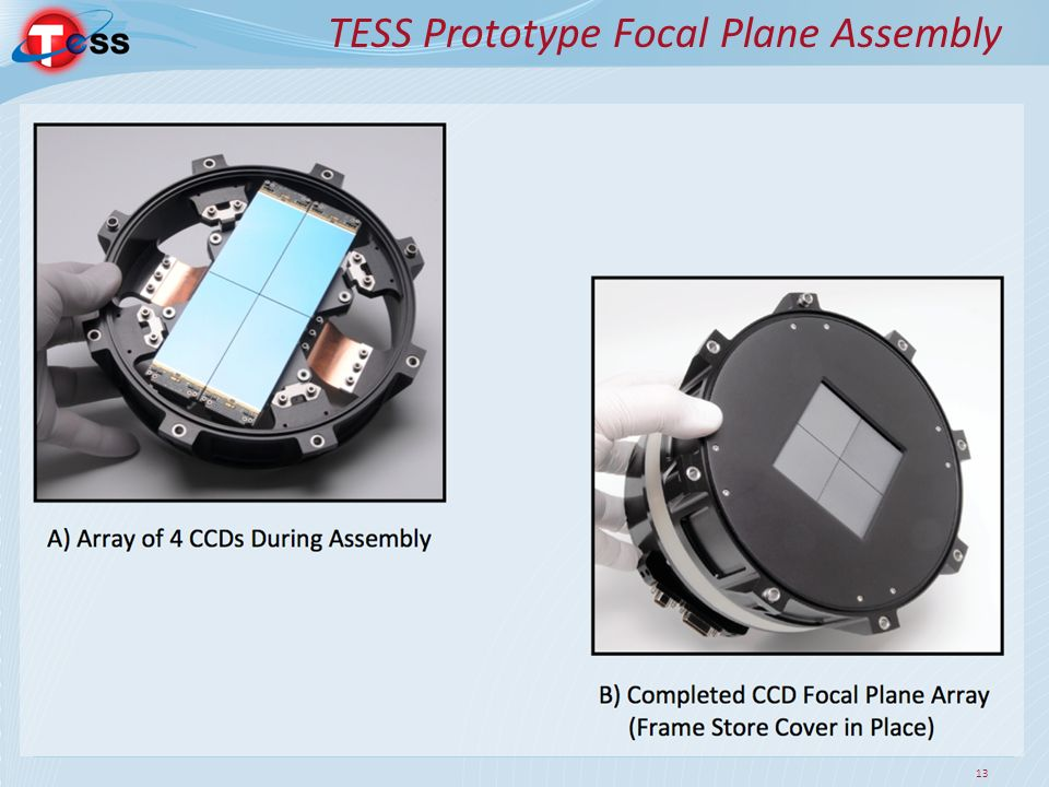 TESS Prototype Focal Plane Assembly 13