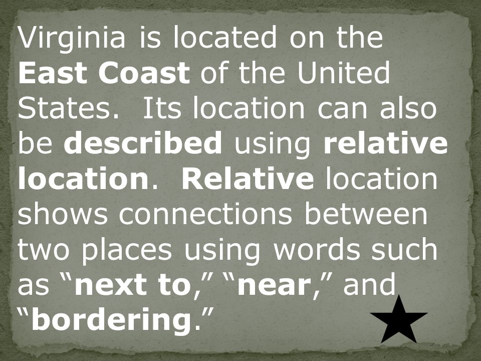 Vs 2a b interactive notes virginia is located on the east coast virginia is located on the east coast of the united states sciox Choice Image