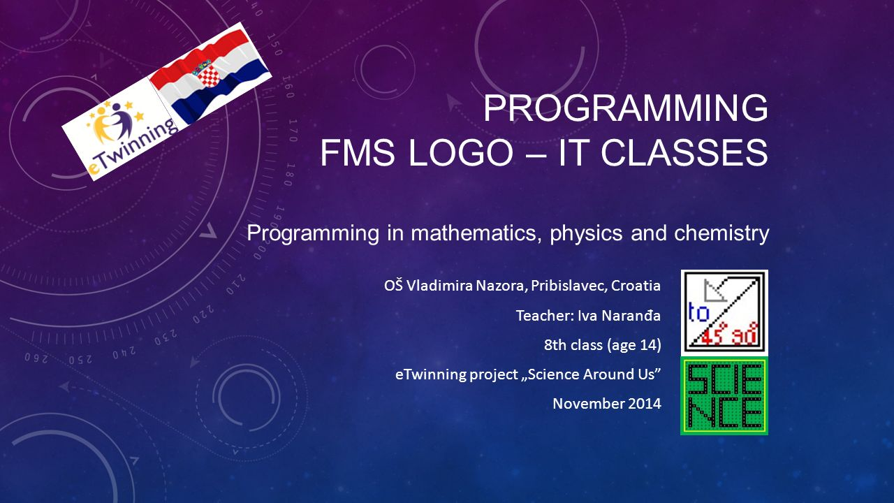 PROGRAMMING FMS LOGO IT CLASSES Programming In Mathematics