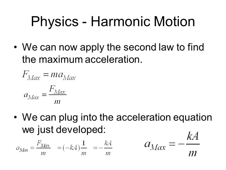 Acceleration Equations Physics - Jennarocca