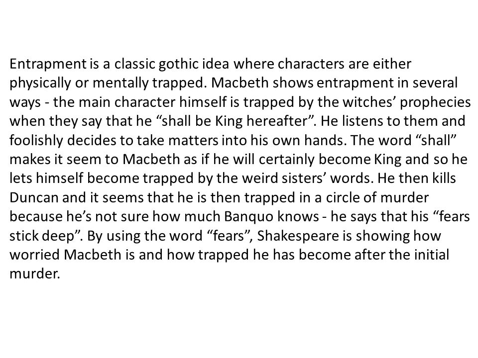 Macbeth introduction essay