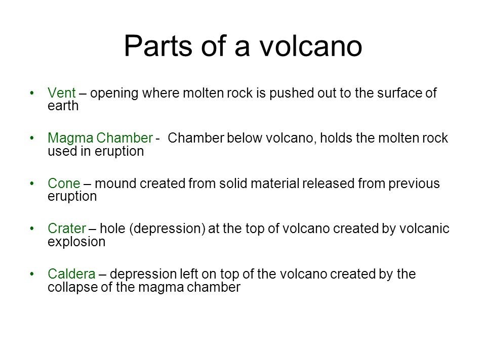 PS 3-13 Thursday –Friday volcano information. Old assigned ...