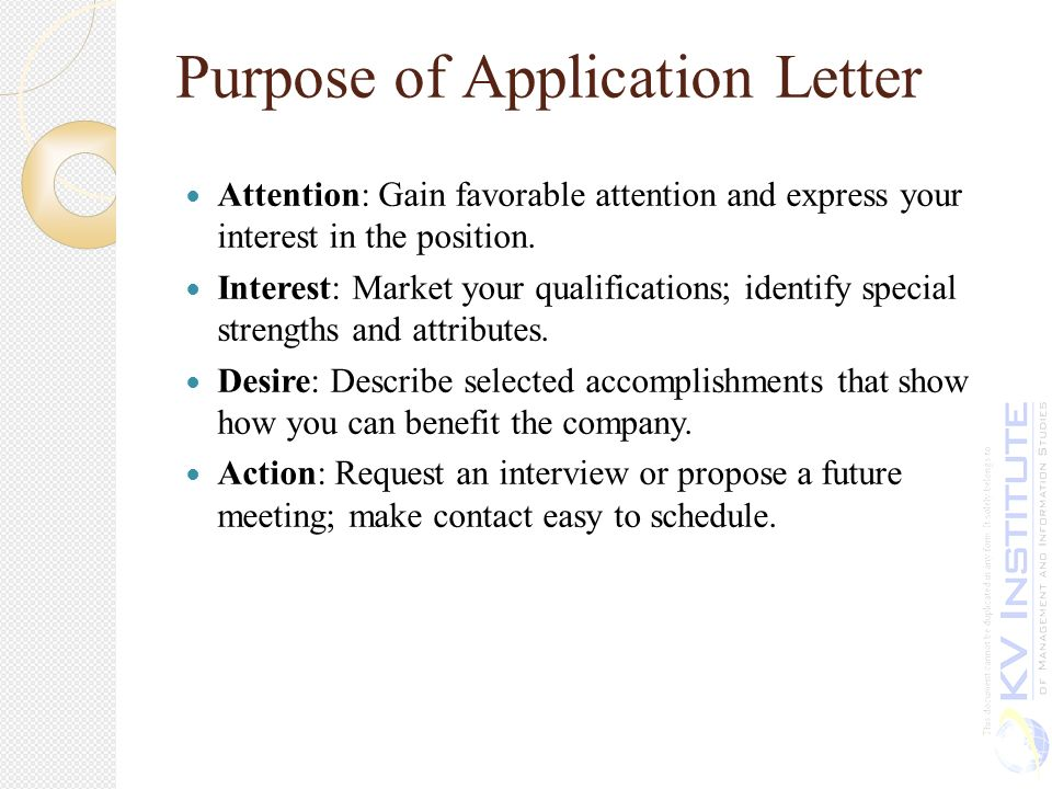 define a cover letters