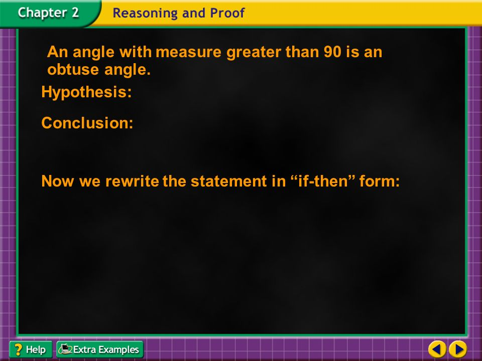 Conditional Statements A conditional statement is a statement that ...