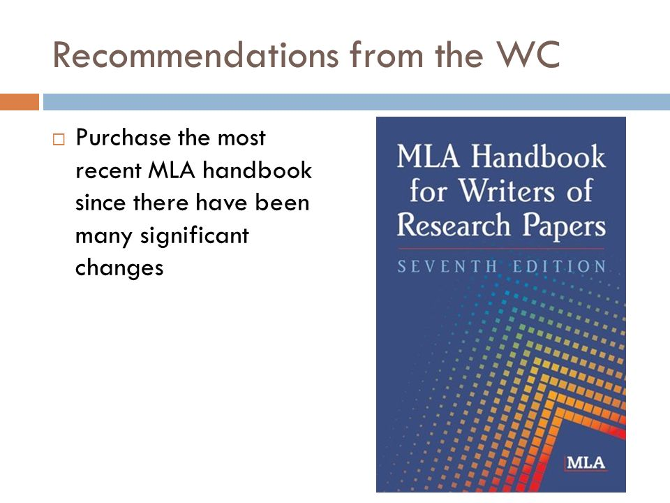 Purchase mla paper
