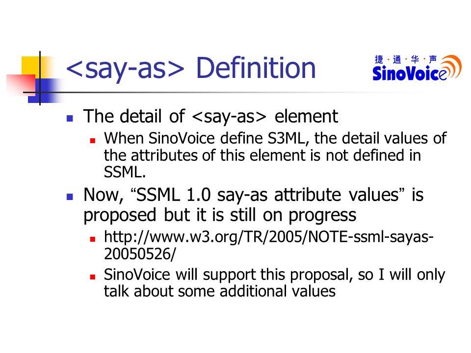 WWW_SAY1_INFO_an introduction to s3ml beijing infoquick sinovoice speech techn